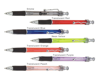 PN102 - Landcaster Plastic Ball Point Pen