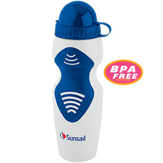 SWWB80BU - 24 oz BPA Free Sports Bottle - Blue